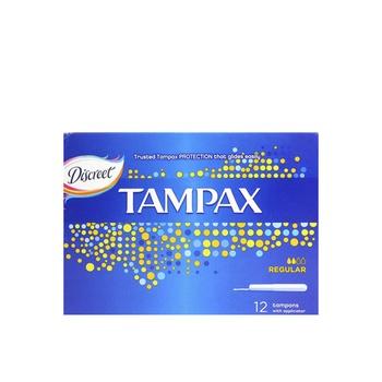 Tampax Tampons With Applicator Regular 12pcs