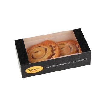 Vienna Bakery Cinnamon Roll 2 Pieces