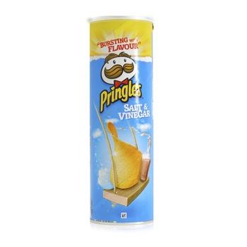 Pringles Potato Chips Salt & Vinegar 165g