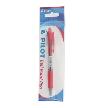 Pilot Super Grip Retractable Medium Red Ball pen