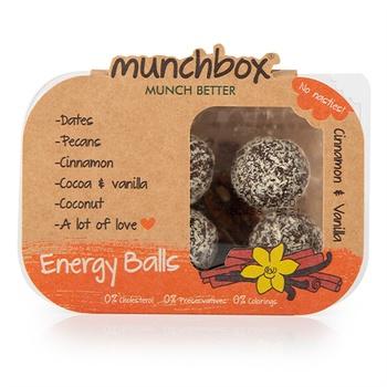 Munc Box Cinnamon & Vanilla Energy Balls