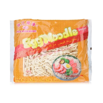 Pearl River Bridge Egg Noodle (Broad) 400g