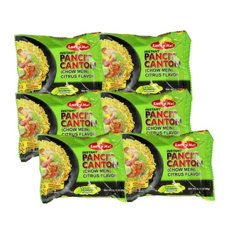 Lucky Me Instant Pancit Canton Sweet and Spicy 6X60g