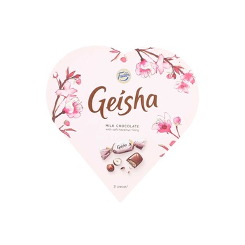 Fazer Geisha Heart Chocolate 225g