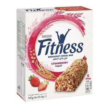 Nestle Fitness Strawberry Bar 6X23.5g @15%Off