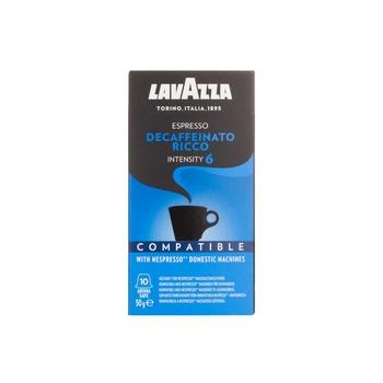 Lavazza Nespresso Compatible Capsule Decaff Ricco 10's