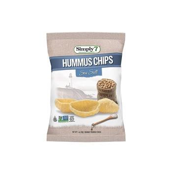 Simply7 Chips Ss Humus Sea Slt 1 Oz