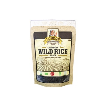 London Super Foods Organic Gluten Free Black Wild Rice 400g