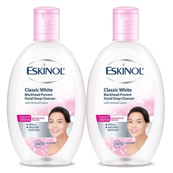 Eskinol Classic White Deep Cleanser 225ml Pack of 2