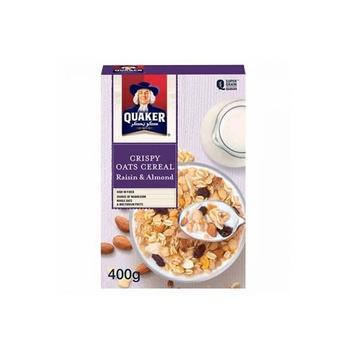 Quaker Cereal Raisin & Almond 400g