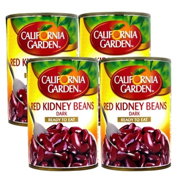California Garden Red Kidney Beans 4X400g