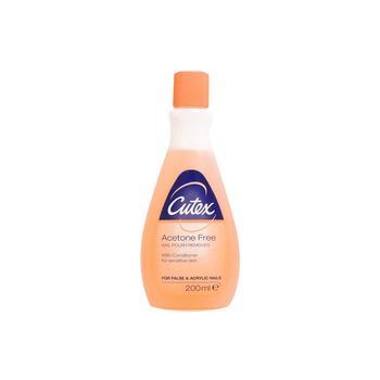 Cutex Acetone Free Nail Polish Remover 200 ml