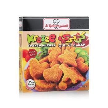 Al Kabeer Krazee Chicken Nugget 400g