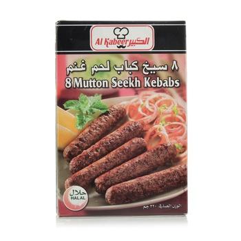 Al Kabeer 8 Mutton Seekh Kabab 320g