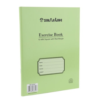 Sinarline  Exercise Book -100 Sheets