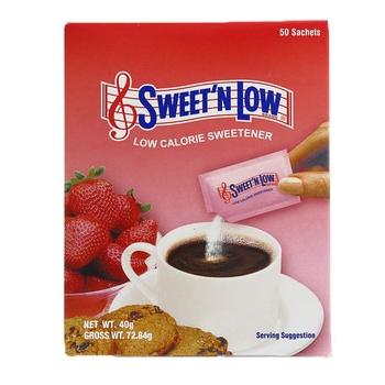 Sweet N Low-Calorie Sweetener 50 Satchets 40g