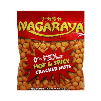 Nagaraya Cracker Nuts Hot & Spicy 160g