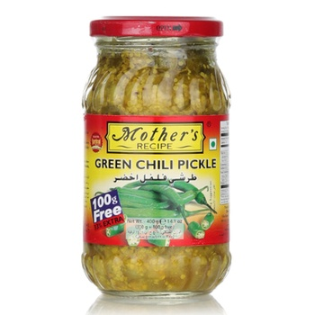 Mothers Recipe Chilli Pickle 33%Xtra 300G