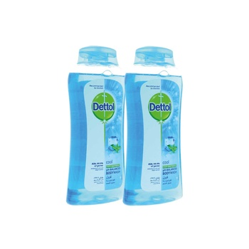 Dettol Showergel Cool 250ml Pack of 2