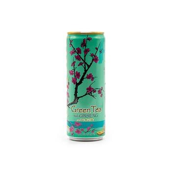 Arizona Green Tea with Ginseng & Honey Slim Can 340ml