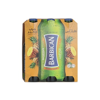 Barbican Non Alcoholic Malt Beverage Pineapple Flavor 6x300ml