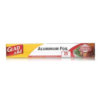 Glad Aluminium Foil 25 Sq.Ft