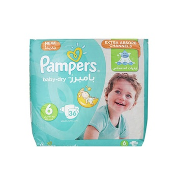 Pampers Active Baby 6 Large (16+Kg) 36 Pieces