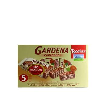Loacker Gardena Hazelnut Cream Wafer 190g