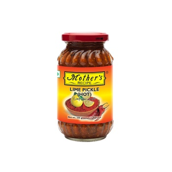 Mothers Recipe Lime Pickle Hot 300g