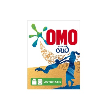 Omo Front Load Laundry Detergent Powder With Comfort Oud 2.5kg