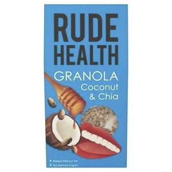 Rude Health Granola - Coconut & Chia  450g
