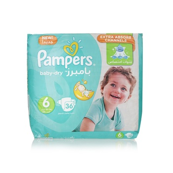 Pampers Active Baby 6 Large (16+kg) 36pcs