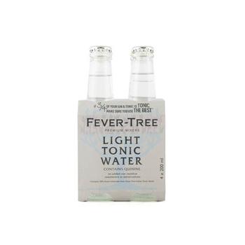Fever Tree Light Tonic Water 4 X 200 ml