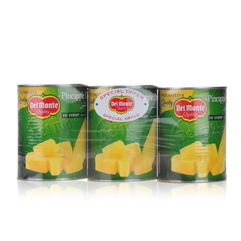 Del Monte Pine Chunks In Syrup 3 x 567g