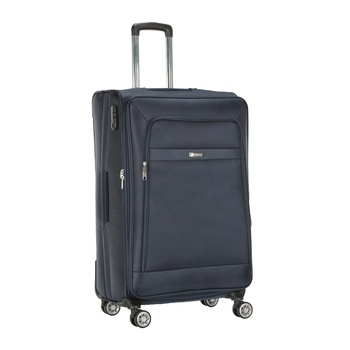 Voyager Trolley Bag  Blue -28 inch