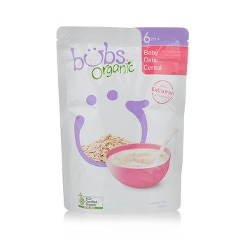 Organic Bubs baby Oats Cereal125g