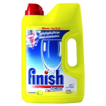 Finish Classic Dishwashing Powder Lemon 2.5kg