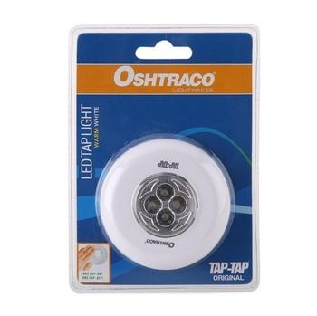 Oshtraco Round Shape Led Tap Light Warm White