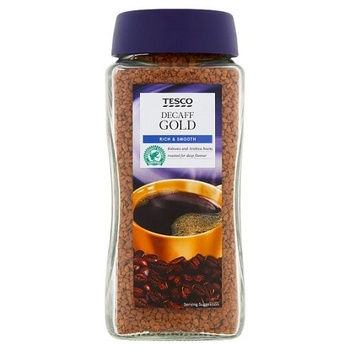 Tesco Gold Decaffinated Instant Coffee 200g