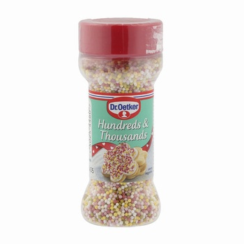 Dr. Oetker hundreds & thousands 65g
