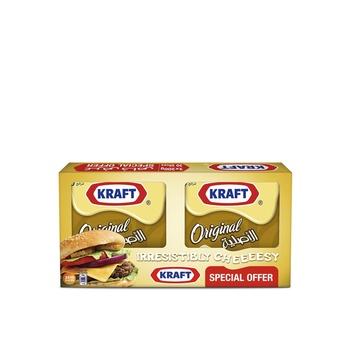 Kraft Slices Original 200g Pack of 2