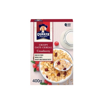 Quaker Cereal Cranberry 400g
