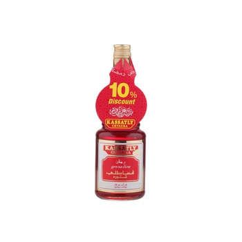 Kassatly Grenadine Syrup 600ml @10% Off