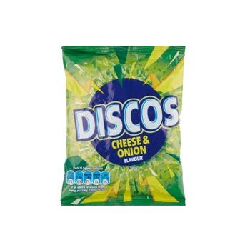 Kp Disco's Cheese & Onion 25.5g