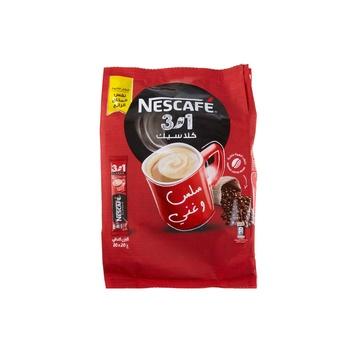 Nescafe 3 In1 Classic Pouch 30x20g