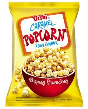 Oishi Caramel Popcorn 70g