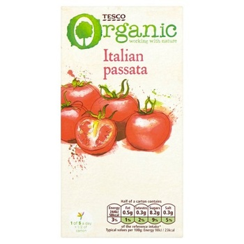 Tesco Organic Italian Passata 500g
