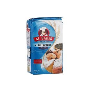 Al Baker  Plain Flour 1 Kg