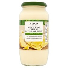 Tesco Macaroni & Cheese Pasta Bake Sauce 460g