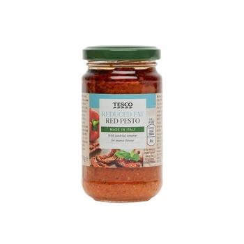 Tesco Reduced Fat Red Pesto 190g